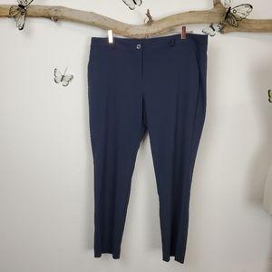 Michael Kors plus sized navy trousers